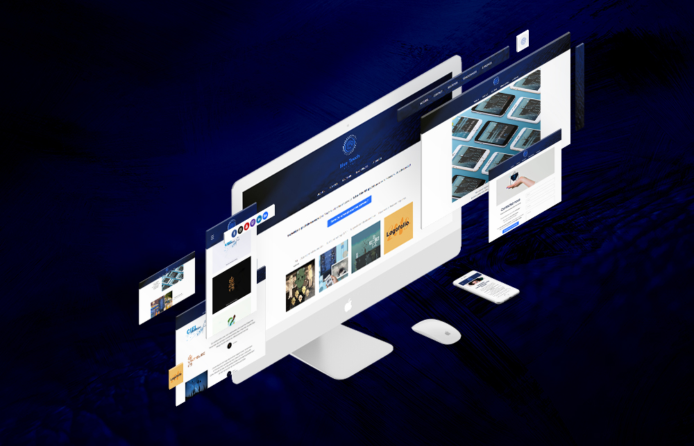 site web blue touch studio