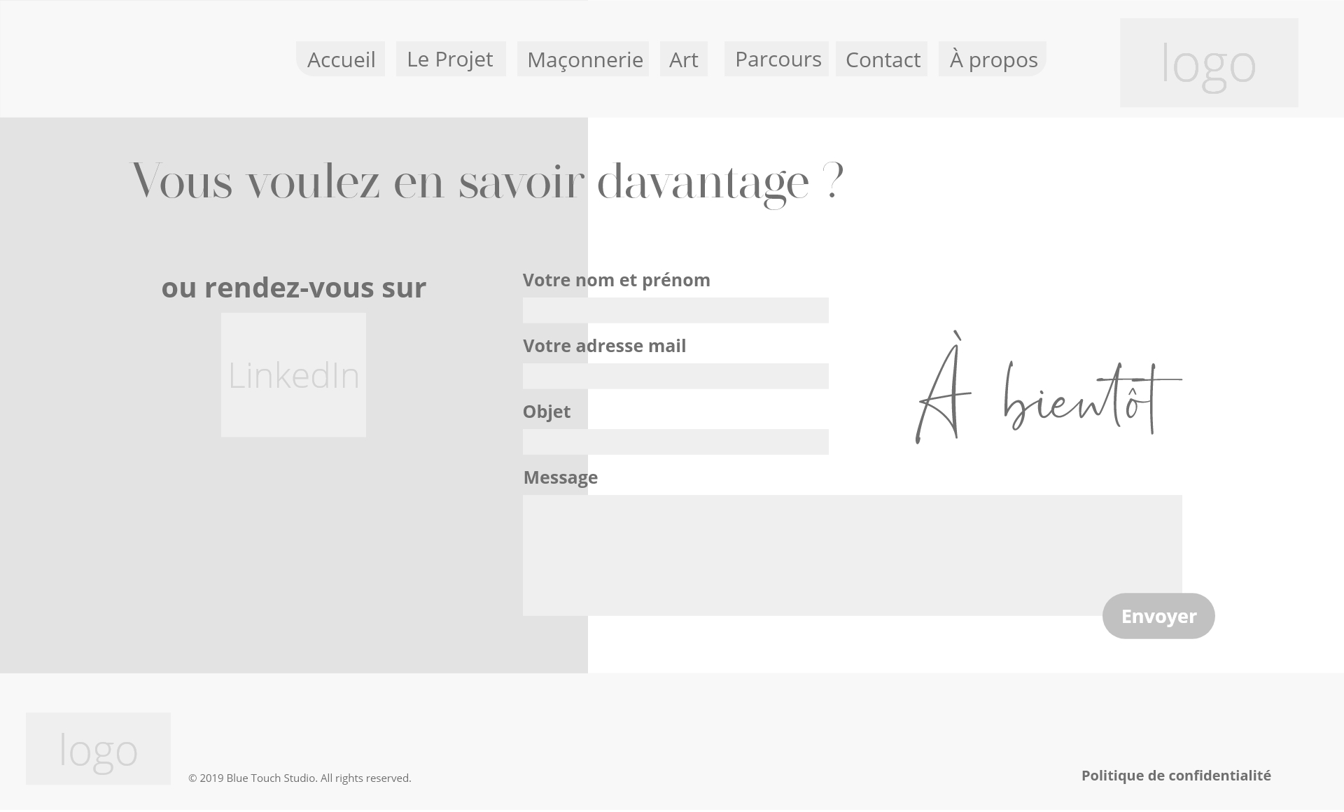 Wireframe Contact